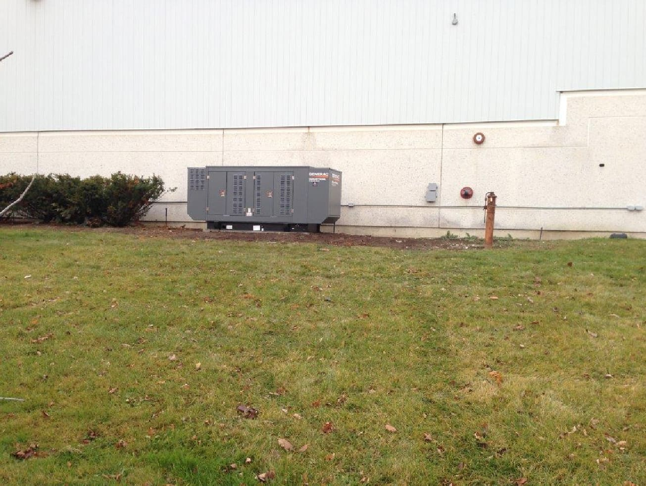 80kw Generator for transportation company in Mississauga