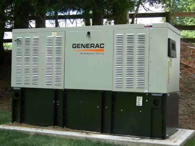 New 30 kw diesel generator installed on farm in King- A