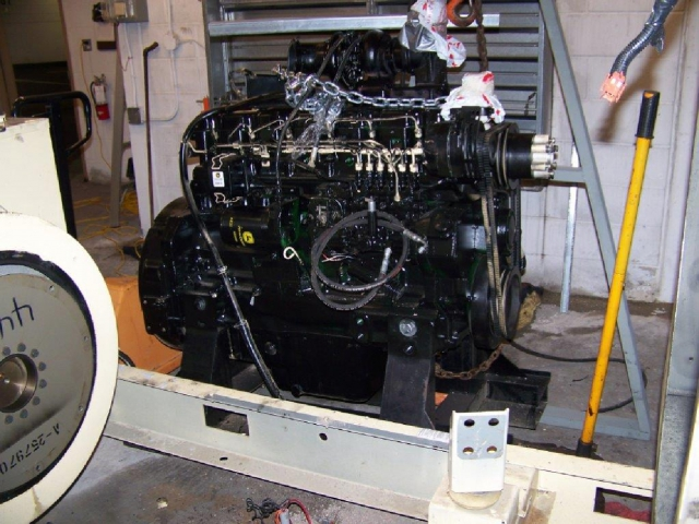 Replacing diesel engine in 180kw KOHLER generator-C